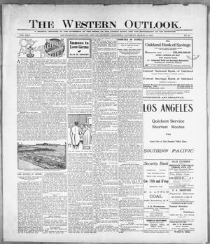 Primary view of The Western Outlook. (San Francisco, Oakland and Los Angeles, Calif.), Vol. 22, No. 25, Ed. 1 Saturday, March 11, 1916