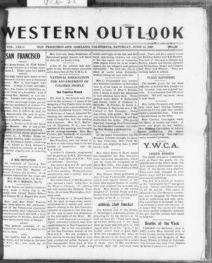 Primary view of object titled 'Western Outlook (San Francisco and Oakland, Calif.), Vol. 33, No. 36, Ed. 1 Saturday, June 11, 1927'.