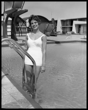 Primary view of object titled 'Miss Abilene At The Sands Hotel #2'.