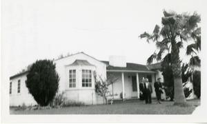Primary view of object titled '[Photograph of W. H. Howard Home]'.