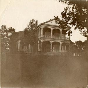 Primary view of object titled '[Photograph of Boys Home]'.