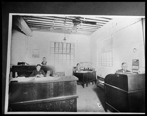Primary view of object titled 'Office at Abilene Candy Company #1'.