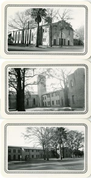 Primary view of object titled '[Three Photographs of Central Church of Christ]'.