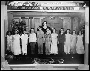 Primary view of object titled 'Children at Abilene Candy Company #2'.
