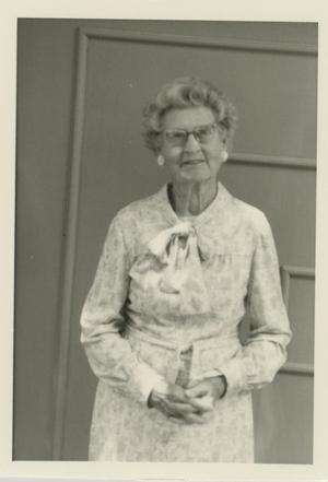 Primary view of object titled '[Photograph of Woman]'.