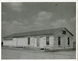 Primary view of object titled '[Photograph of Industrial Technology Building]'.