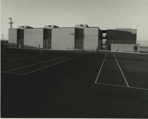 Primary view of object titled '[Photograph of Tennis Courts]'.