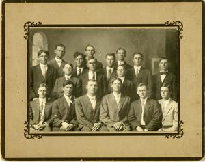 Primary view of object titled '[Photograph of W.W. Debating Club]'.