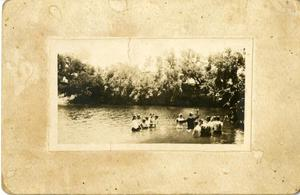 Primary view of object titled '[Photograph of Baptism]'.