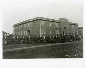 Primary view of object titled '[Photograph of Student Army Training Corps]'.