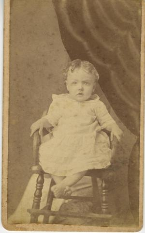 Primary view of object titled '[Portrait of Child]'.