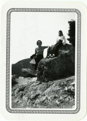 Primary view of object titled '[Photograph of Garden of the Gods]'.