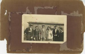 Primary view of object titled '[Photograph of a Group at Abilene Christian College]'.