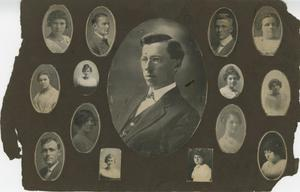 Primary view of object titled '[Portraits of Abilene Christian College Faculty]'.