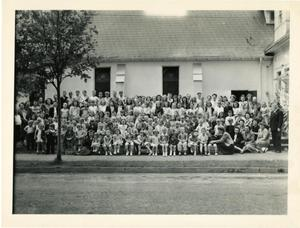 Primary view of object titled '[Photograph of Vacation Bible School Children]'.
