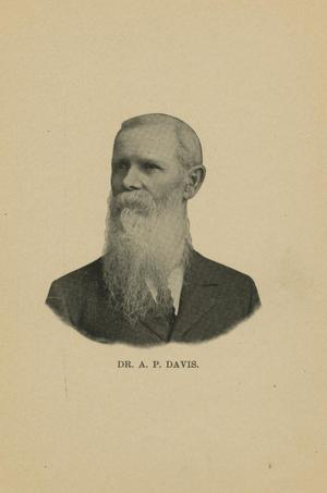Primary view of object titled '[Portrait of Dr. A.P. Davis]'.