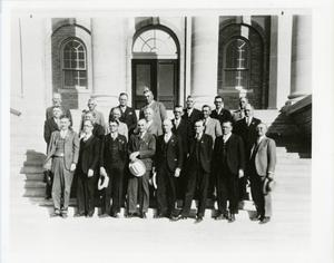 Primary view of object titled '[Photograph of 1930 ACU Board of Trustees]'.