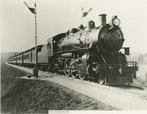"Primary view of object titled '[Photograph of ""The Sunshine Special""]'."