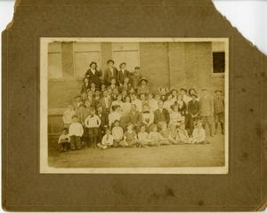 Primary view of object titled '[Photograph of a Group of Students]'.