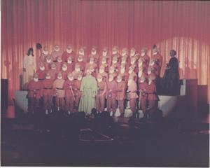 Primary view of object titled '[Photograph of Snow White and the Seven Dwarfs at Sing Song]'.