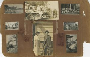 Primary view of object titled '[Eight Photographs of Outdoor Activities]'.