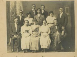 Photograph of a Group of Men and Women