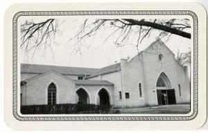 Primary view of object titled '[Photograph of West Side Church of Christ]'.