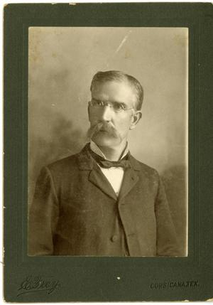 Primary view of object titled '[Portrait of Dr. B.F. Houston]'.