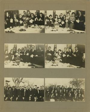 Primary view of object titled '[Photographs of W Club Function]'.