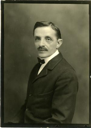Primary view of object titled '[Portrait of George A. Klingman]'.