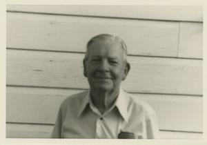 Primary view of object titled '[Photograph of Older Man]'.