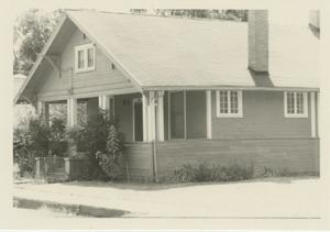 Primary view of object titled '[Photograph of the Porch of a House]'.