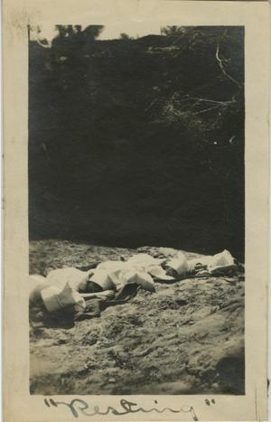 "Primary view of object titled '[Photograph of Women ""Resting""]'."