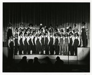"Primary view of object titled '[Photograph of ""Farmers"" at Sing Song]'."