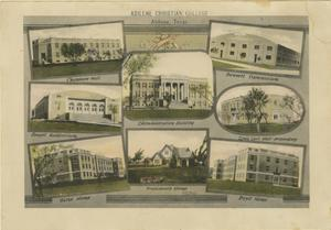 Primary view of object titled '[Drawings of Abilene Christian College Buildings]'.