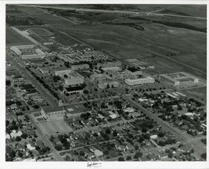 Primary view of object titled '[Photograph of Abilene Christian College Campus]'.