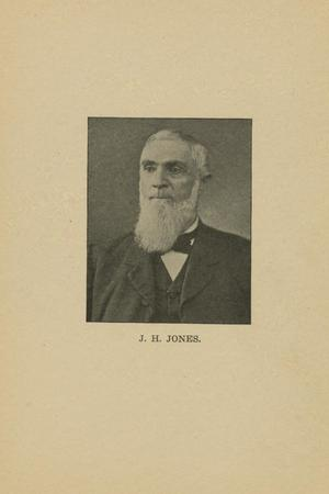 Primary view of object titled '[Portrait of J.H. Jones]'.