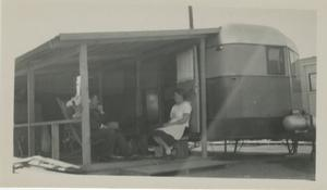 "Primary view of object titled '[Photograph of Sauer ""Patio""]'."