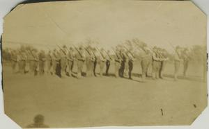 Primary view of object titled '[Photograph of SATC Soldiers]'.