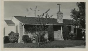 Primary view of object titled '[Photograph of Gwin House]'.