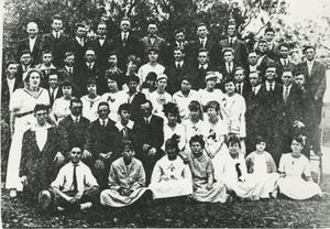 Primary view of object titled '[Photograph of Group]'.