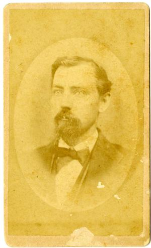 Primary view of object titled '[Portrait of L.R. Sewell]'.