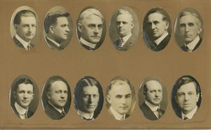 Primary view of object titled '[Twelve Lectureship Portraits]'.