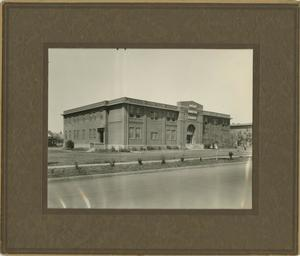 Primary view of object titled '[Photograph of Administration Building]'.