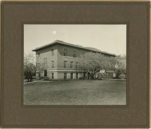 Primary view of object titled '[Photograph of Daisy Hall]'.