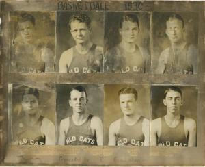 Primary view of object titled '[1930 Basketball Portraits]'.