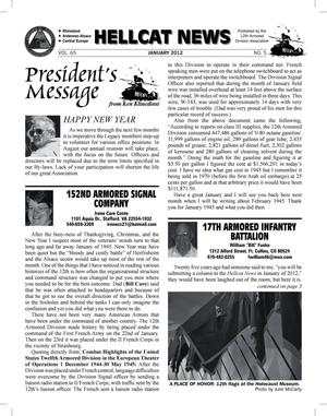 Primary view of object titled 'Hellcat News (Garnet Valley, Pa.), Vol. 65, No. 5, Ed. 1, January 2012'.