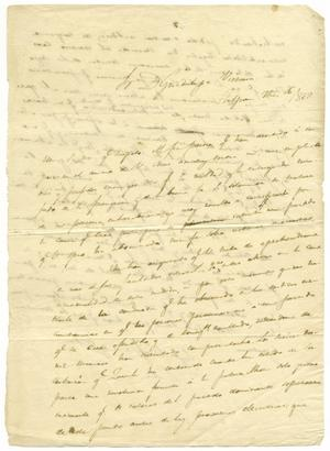 [Letter from Lorenzo de Zavala to Guadalupe Victoria, September 26, 1828]
