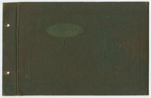 Primary view of object titled '[John Todd Willis, Jr. Baby Book]'.