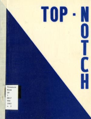 Primary view of object titled 'Top-Notch, Volume II, Spring 1962'.